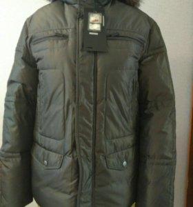 Мужская зимняя куртка, размер 50-52
