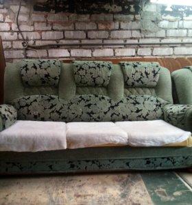 Профессиональная перетяжка мягкой мебели