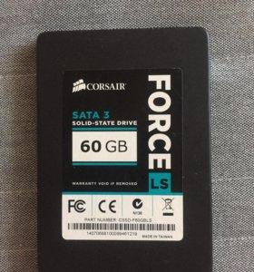 Жёсткий диск ssd 60Gb