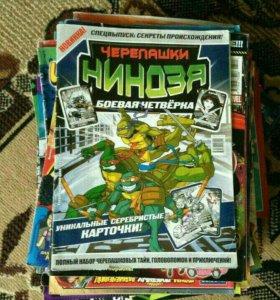 Комиксы журналы