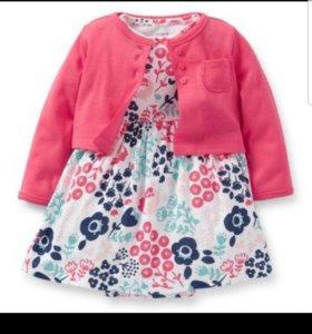 Платье для новорожденной Carters