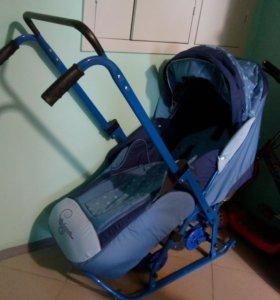 Сани-коляска
