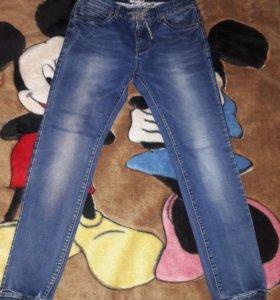 джинсы на резинки