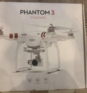 Квадрокоптер DJI Phantom 3 Standard новый