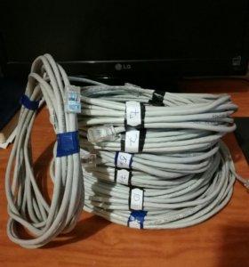 Витая пара. Интернет кабель. UTP.