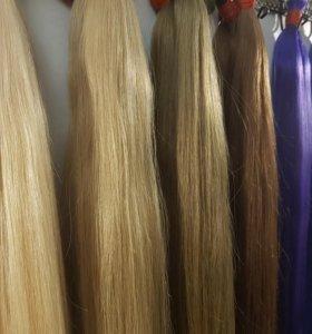 Волосы для наращивания 50-60-70 см.