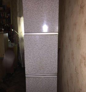 Пенал и навесной шкаф на кухню (для дачи)