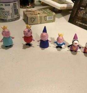 Детские игрушки Свинка Пеппа чупа-чупс