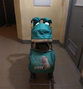 Санки- коляска