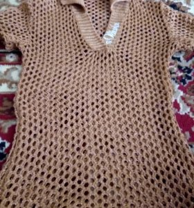 Плетеная кофта