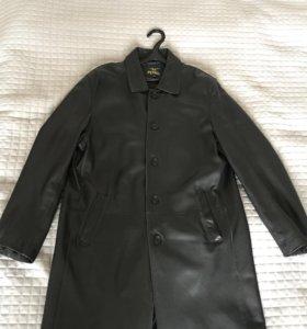 Куртка пиджак плащ полупальто мужской кожа натур.