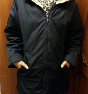 Куртка женская весна 46-48