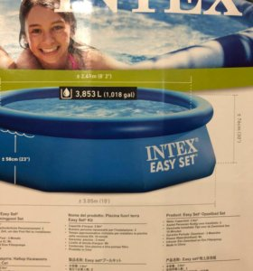 Надувной бассейн INTEX 305x76 новый