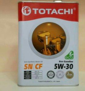 Акция!!!TOTACHI Eco Gasoline 5W-30 4л