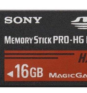 Карта памяти Sony MemoryStick Pro-HG Duo 16Gb