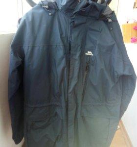 Куртка 3в1 шотландия хорошая мембрана, не ношена
