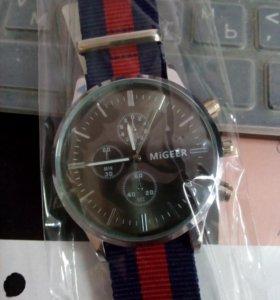 Часы стильные MIGEER (циферблат 45 мм)