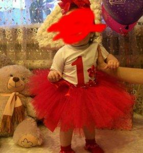 Комплект девочке на день рождения
