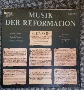 Виниловая пластинка музыка эпохи Возрождения