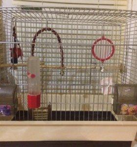 Клетка для попугая,торг