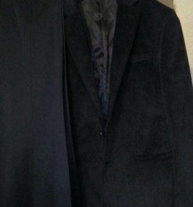 Костюм муж.(пиджак и брюки)50-52р