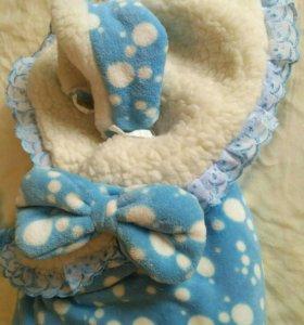 Конверт (одеяло) на выписку зима