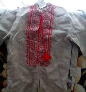 Украинская вышиванка 42 размера