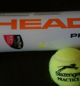 Мяч теннисный HEAD Pro уп.3 шт Новые
