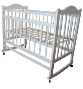 Кроватка детская, бортики, матрас