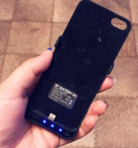 Беспроводная зарядка на iPhone 5s