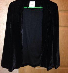 Новый велюровый пиджак