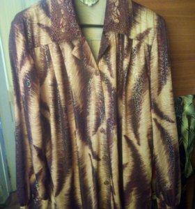 Рубашка блузка 60 размер