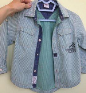 Рубашка на мальчика S.Oliver