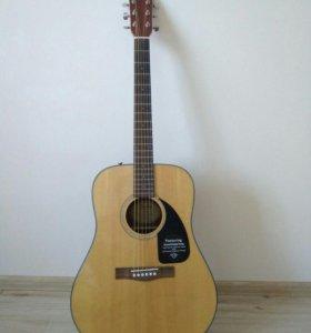 Акустическая гитара FENDER DG-60/NAT