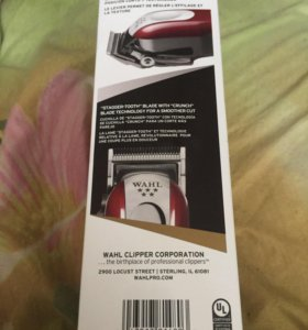 Машинка для стрижки Wahl Magic Clip Cordless 5star