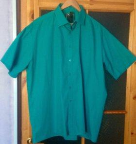 Рубашка мужская новая с коротким рукавом