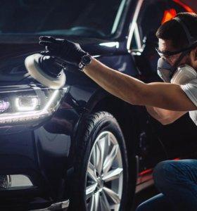 Полировка кузова автомобиля и защитные составы