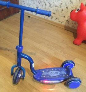 Самокат детский 3-х колесный