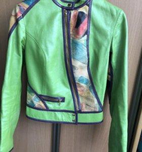 Эксклюзивная куртка из натуральной кожи! Размер 40
