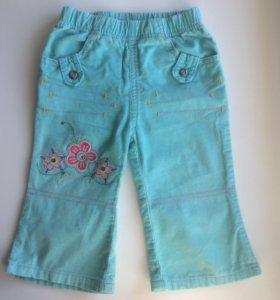 Брюки вельветовые Gloria jeans