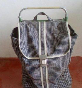Ручная сумка-тележка.