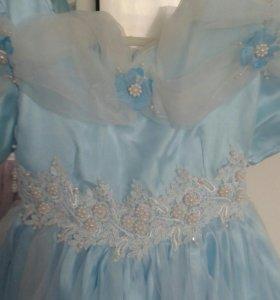 Платье на выпуск в садике
