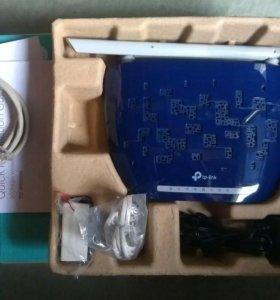 Wi-Fi роутер+модем TP-link новый