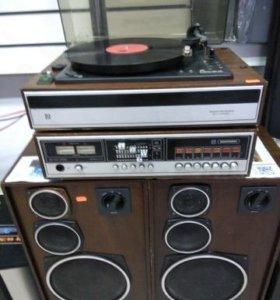 Радиотехника-001 с акустикой б\у