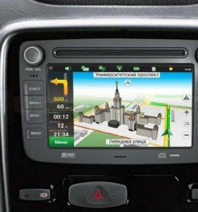 Авто магнитола GPS