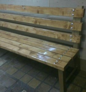 Мебель садовая (скамейка,лавка со спинкой)