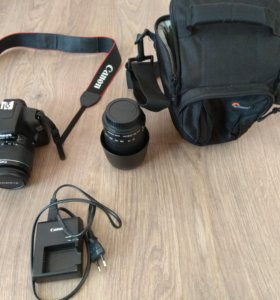 Фотоаппарат Canon EOS 1100D Kit (DS126291)