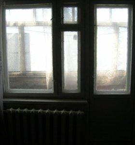 Блоки балконный, оконный, двери деревянные