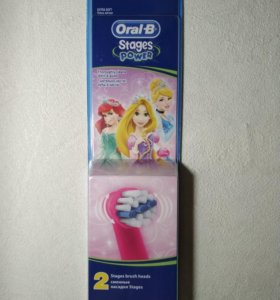 Насадки для зубной щетки Oral-B Stages Power
