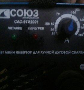 Сварочный инвертор СОЮЗ сас97и2661